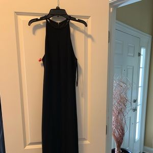 Ralph Lauren Bead neck gown